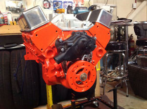 ** SBC 327 HI PERFORMANCE ENGINE BUILD **