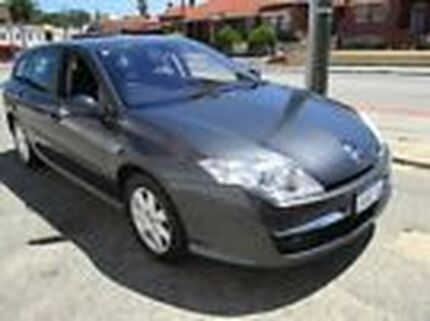 2010 Renault Laguna III K91 Expression Estate Grey 6 Speed Sports Automatic Wagon St James Victoria Park Area Preview