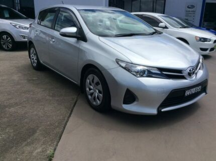 2013 Toyota Corolla ZRE182R Ascent Silver 7 Speed CVT Auto Sequential Hatchback