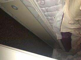 Divan bed + headboard