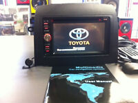 DDIN NAVIGATION RADIOS INSTALLED FROM $499.99 - FITS MOST CARS
