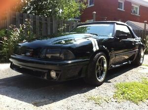 1989 Ford Mustang gt Cabriolet