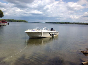 18' Boat with Motor and Trailer: $4500