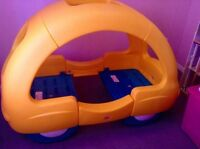 Toddler Car Bed and Bedding