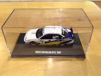 VOLVO S40 BRITISH TOURING CARS 1997 - COLLECTIBLE MODEL - 1/43 - RARE COLLECTIBLE