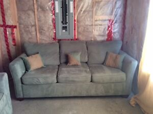 EUC Living Room Suite with Sofa Bed