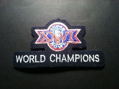 1998 Super Bowl XXXII Patch Superbowl 32 Embroidered Championship SB Iron On 4.5