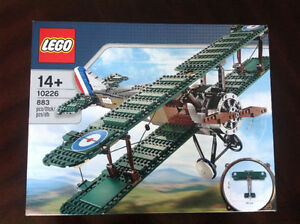Brand new in sealed box Lego 10226 Sopwith Camel airplane - Rare