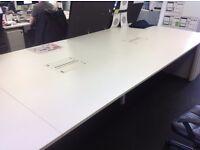 Vitra Workit White Bench Desks