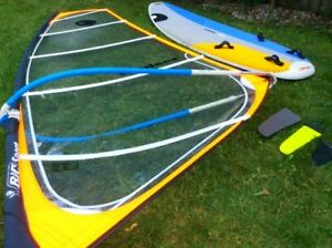 Bic Nova Windsurfer – MINT Condish - Full kit board & rig!
