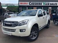 2016 66 REG ISUZU D-MAX NEW MODEL BLADE PEARLESCENT WHITE ROLLER AND BARS CHOICE
