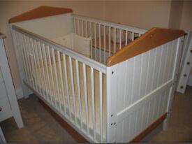 Mama&papa savannah fabulous cream / pine style cot bed