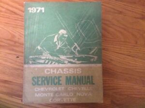 GM Service Manuals 1971 and 1974