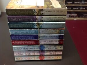 NORA ROBERTS (3-3 BOOKS SETS OF TRILOGY)
