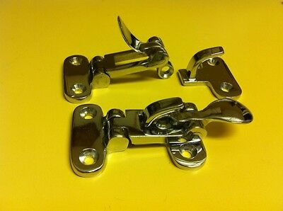2) Chrome Latches Tailgate 1947-1954 Chevrolet AD Truck Pickup Hot Rat Rod