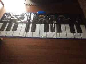 Giant Walk on Floor piano