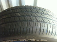 275/60R20 GOOD YEAR WRANGLER SRA 10/32 $400.00 LES 4