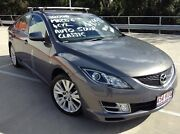 2008 Mazda 6 GH Classic Grey 5 Speed Auto Activematic Hatchback Morayfield Caboolture Area Preview