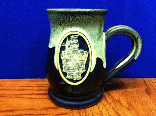 Minnesota Renaissance Festival Pottery Goblet, Mug ~ 2000 ~ Artist Peter Deneen