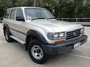 1995 Toyota Landcruiser GXL (4x4) Silver 4 Speed Automatic 4x4 Wagon Morayfield Caboolture Area Preview