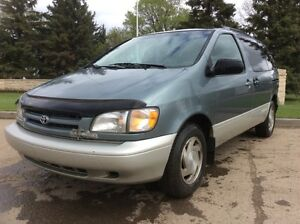 1999 Toyota Sienna, LE-PKG, AUTO, LOADED, LEATHER, ROOF, $1,800