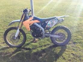 125 cc dirtbike for sale or swap