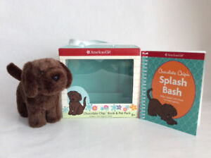 AMERICAN GIRL DOLL CHOCOLATE CHIP PLUSH DOG
