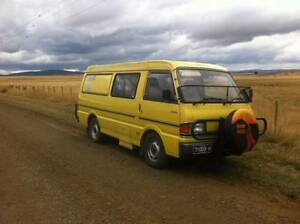 MAZDA E2200 DIESEL CAMPERVAN Burwood East Whitehorse Area Preview
