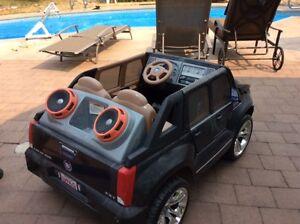 Electric Cadillac & Jeep kids cars