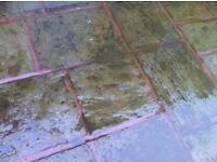 Used Bradstone Garden Slabs