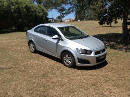 2012 Holden Barina TM MY13 CD Silver 6 Speed Automatic Sedan East Maitland Maitland Area Preview
