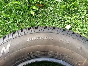 """Winter tires 15"""" """"Artic Claw"""" (studdable) Strathcona County Edmonton Area image 2"""