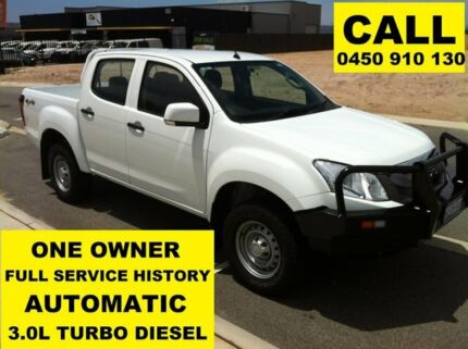 2015 Isuzu D-MAX TF MY15 SX (4x4) White 5 Speed Automatic Crew Cab Utility Ellenbrook Swan Area Preview