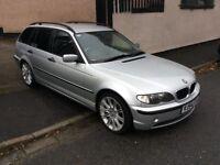 BMW 3 SERIES 2.0 320D SE TOURING 5DR (silver) 2004
