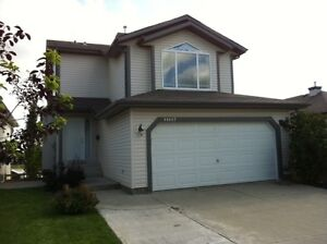 4 bedroom executive house on Castlewood lake in North Edmonton