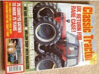 FREE CLASSIC TRACTOR AND EARTHMOVERS MONTHLY MAGAZINES FROM 2004 .