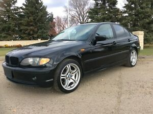 2005 BMW 325i, 5/SPD, LEATHER, ROOF, $7,500