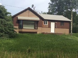2 Bedroom home on acreage