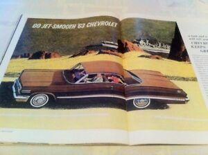 AFFICHES PUBLICITAIRE AUTOMOBILE 1963-64 : 514-616-9777
