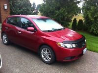 2011 Kia Forte5 EX Hatchback - Spicy Red