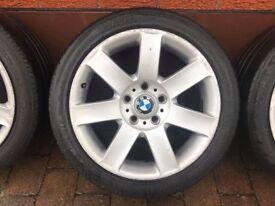 "BMW 17"" Alloy Wheels - 5x120"