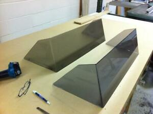 Machining Boat Windshield, Windscreen, Window, Hatch, Door, Deflector