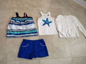 Gymboree Girls size 12 girls spring/summer blue outfit