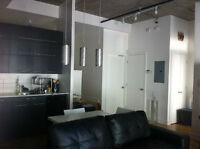 Studio in St. Henri available Aug. 1 - Feb. 1