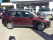 2014 Honda CR-V RM MY15 VTi 4WD Red 5 Speed Sports Automatic Wagon East Maitland Maitland Area Preview