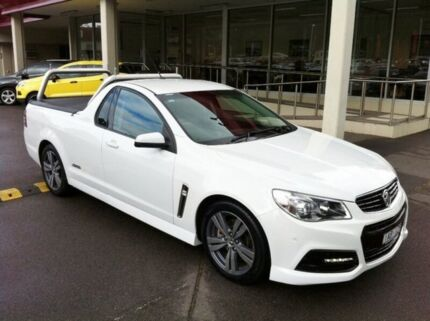 2013 Holden Ute VF MY14 SS Ute White 6 Speed Sports Automatic Utility