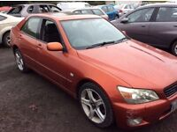2000 LEXUS IS200 MANUAL PETROL 2.0 LTRS CHEAPER TO GO £798 CALL 07549912028