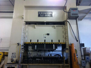 600 Ton stamping press for RENT