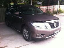 2015 Nissan Pathfinder R52 MY15 ST X-tronic 2WD Mountain Stone 1 Speed Constant Variable Wagon East Maitland Maitland Area Preview
