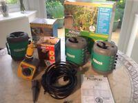 Nearly new boxed Hozelock Green House watering kit